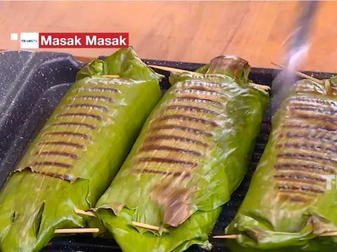 Resep Nasi Bakar Ayam Suwir Kemangi