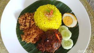 Resep Nasi Kuning Banjar dan Haruan Habang yang Pedas Enak