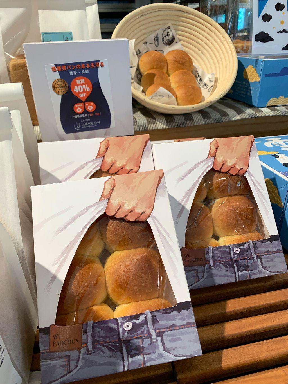 Roti berbentuk abs atau otot perut pria