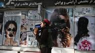 Taliban Berkuasa, Poster Wanita di Salon Kecantikan Afghanistan Dicorat-coret