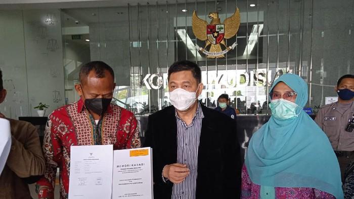 Tim Penasehat Hukum Djoko Tjandra laporkan 3 hakim PN Jakpus ke KY