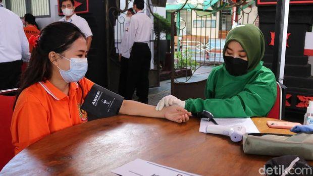 vaksinasi warga binaan lapas banyuwangi