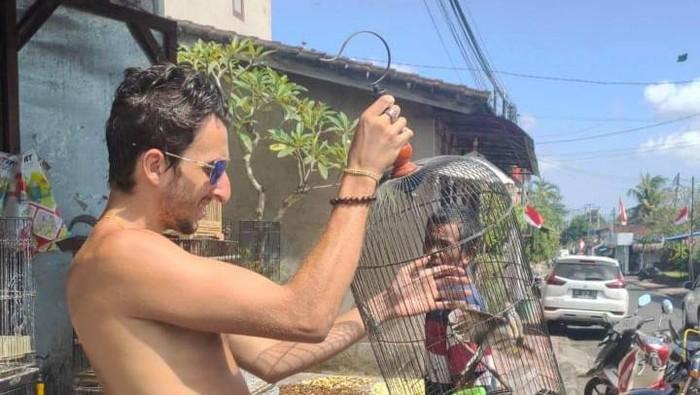 Viral bule di Bali lepasliarkan burung yang dibeli dari penjual. (dok. Istimewa)