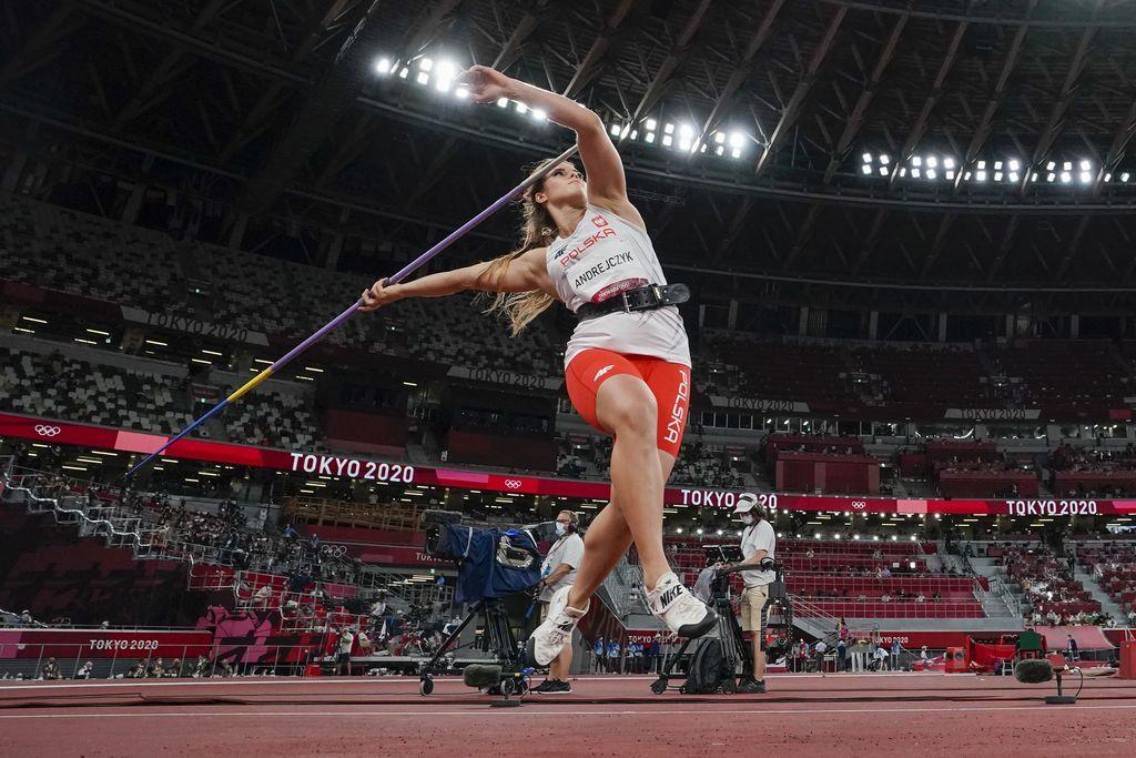 Atlet Lempar Lembing Polandia Maria Andrejczyk di Olimpiade Tokyo 2020