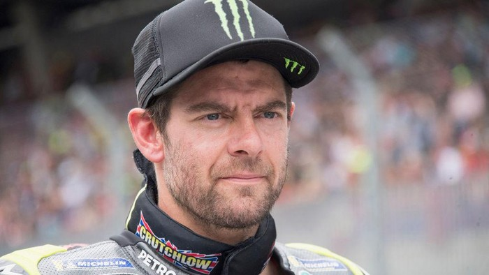 SPIELBERG, AUSTRIA - AUGUST 15:  Cal Crutchlow of Great Britain and Monster Energy Yamaha MotoGP Team prepares to start on the grid during the MotoGP race during the MotoGP of Austria - Race at Red Bull Ring on August 15, 2021 in Spielberg, Austria. (Photo by Mirco Lazzari gp/Getty Images)