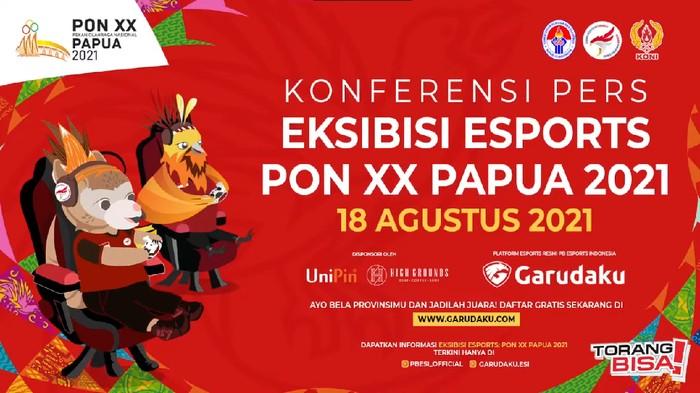 Cara Daftar Pertandingan Ekshibisi Esports PON XX Papua 2021