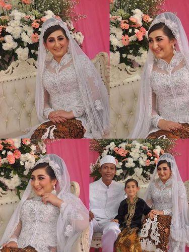 Foto bule cantik yang menikah dengan petugas kebersihn DKI Jakarta.