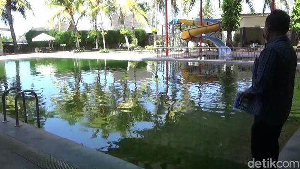 kolam renang di banyuwangi jadi kolam ikan