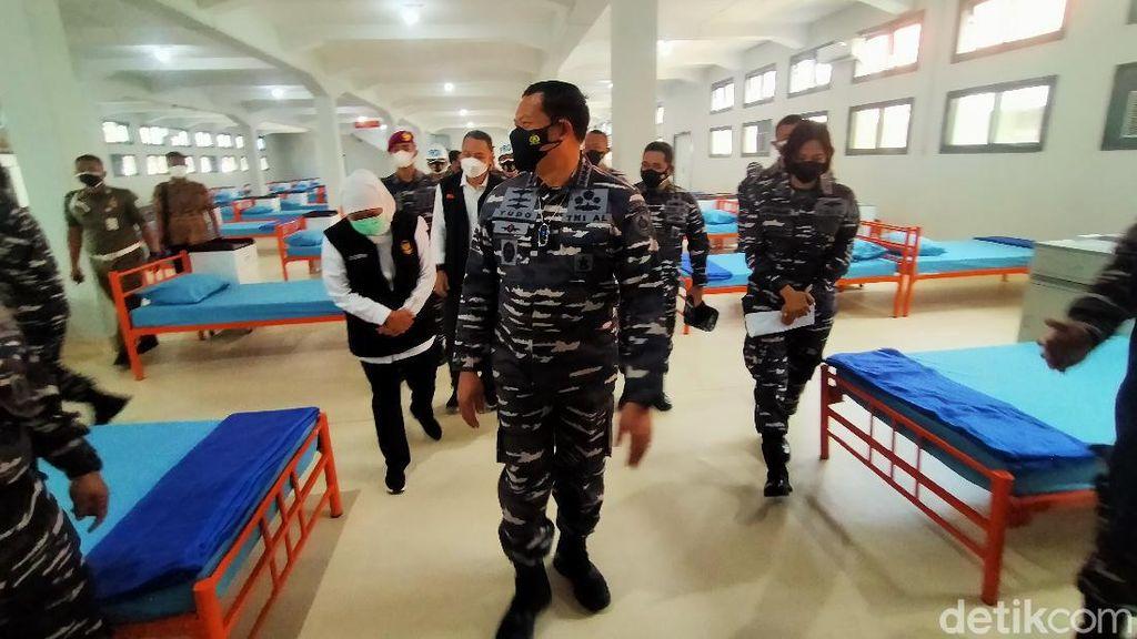 RS Darurat di Lanmar Surabaya Siap untuk Pasien COVID-19 Gejala Ringan