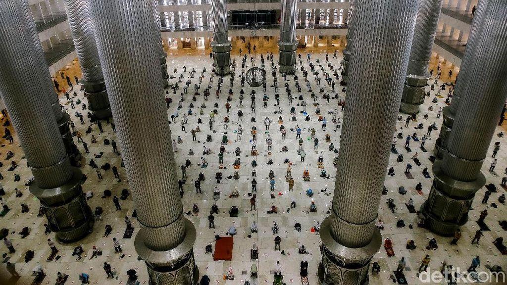 Masjid Istiqlal Kembali Gelar Salat Jumat