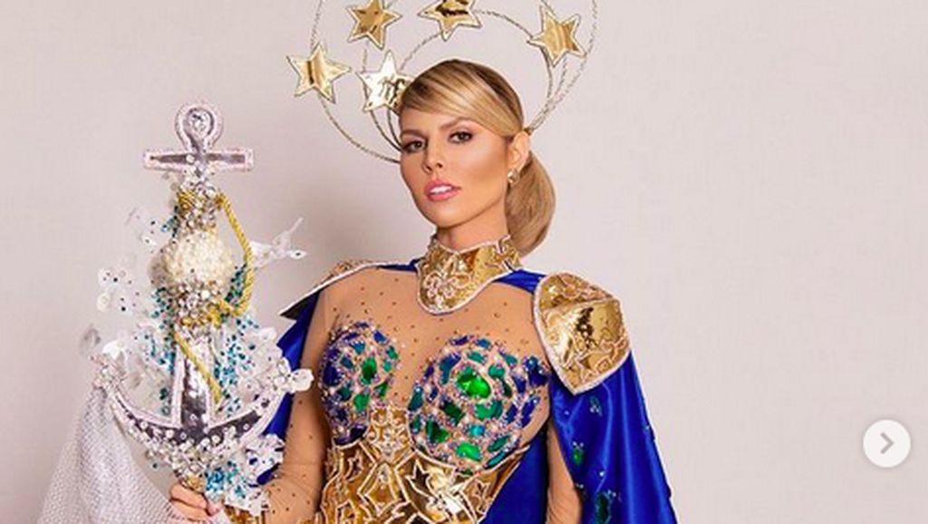 10 Potret Unik Kostum Nasional di Miss Supranational 2021, RI Juara Pertama