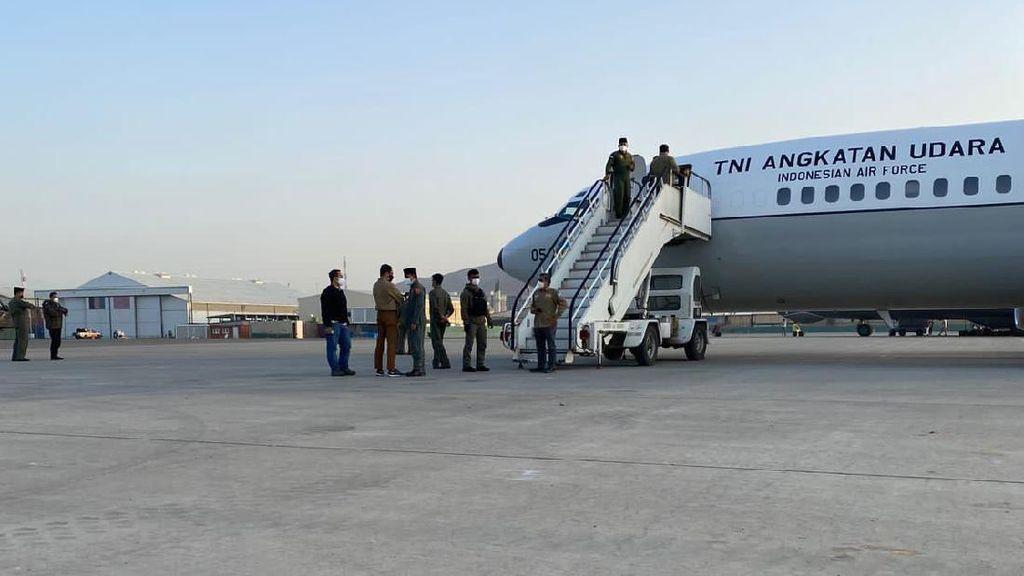 TNI AU Beberkan Tantangan Saat Evakuasi WNI dari Afghanistan