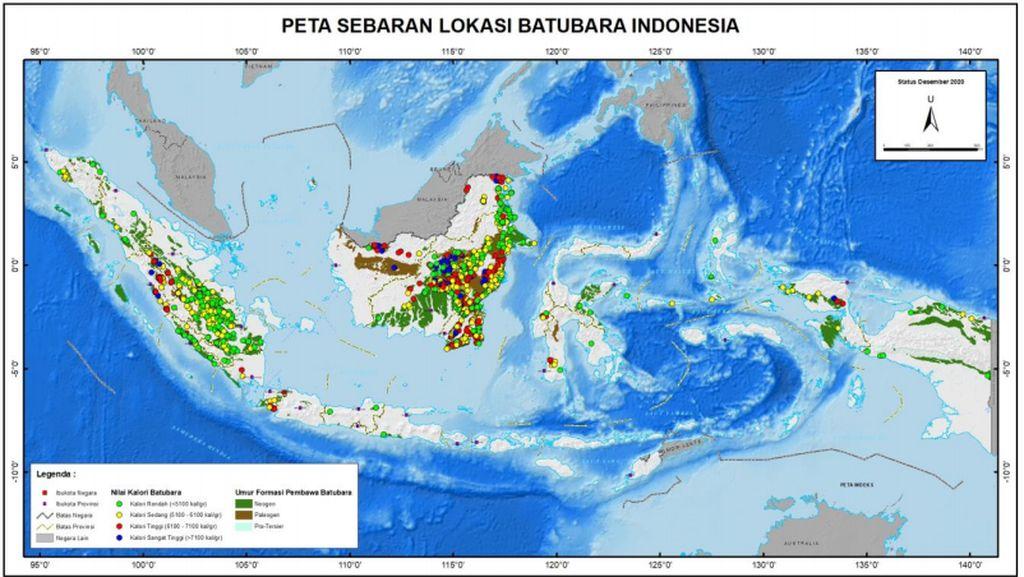 Apa Pulau dengan Potensi Cadangan Batubara Terbesar di Indonesia?