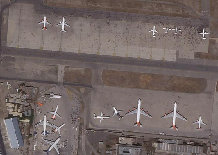 Satelit Bandara Kabul