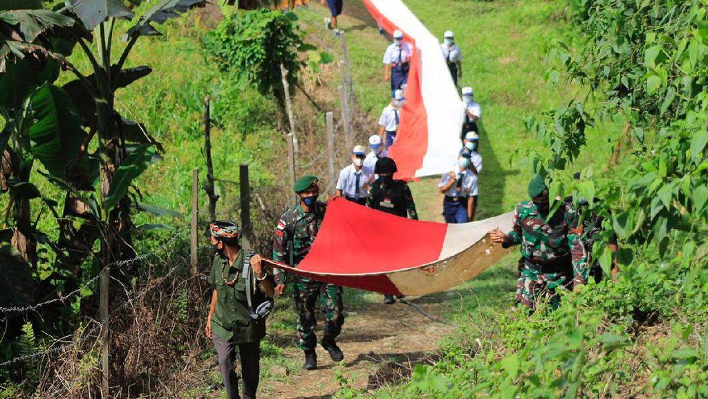 Potret Semarak Kemerdekaan di Tapal Batas RI-Malaysia
