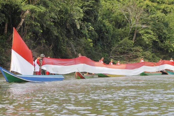 Semarak 17 Agustus di Tapal Batas
