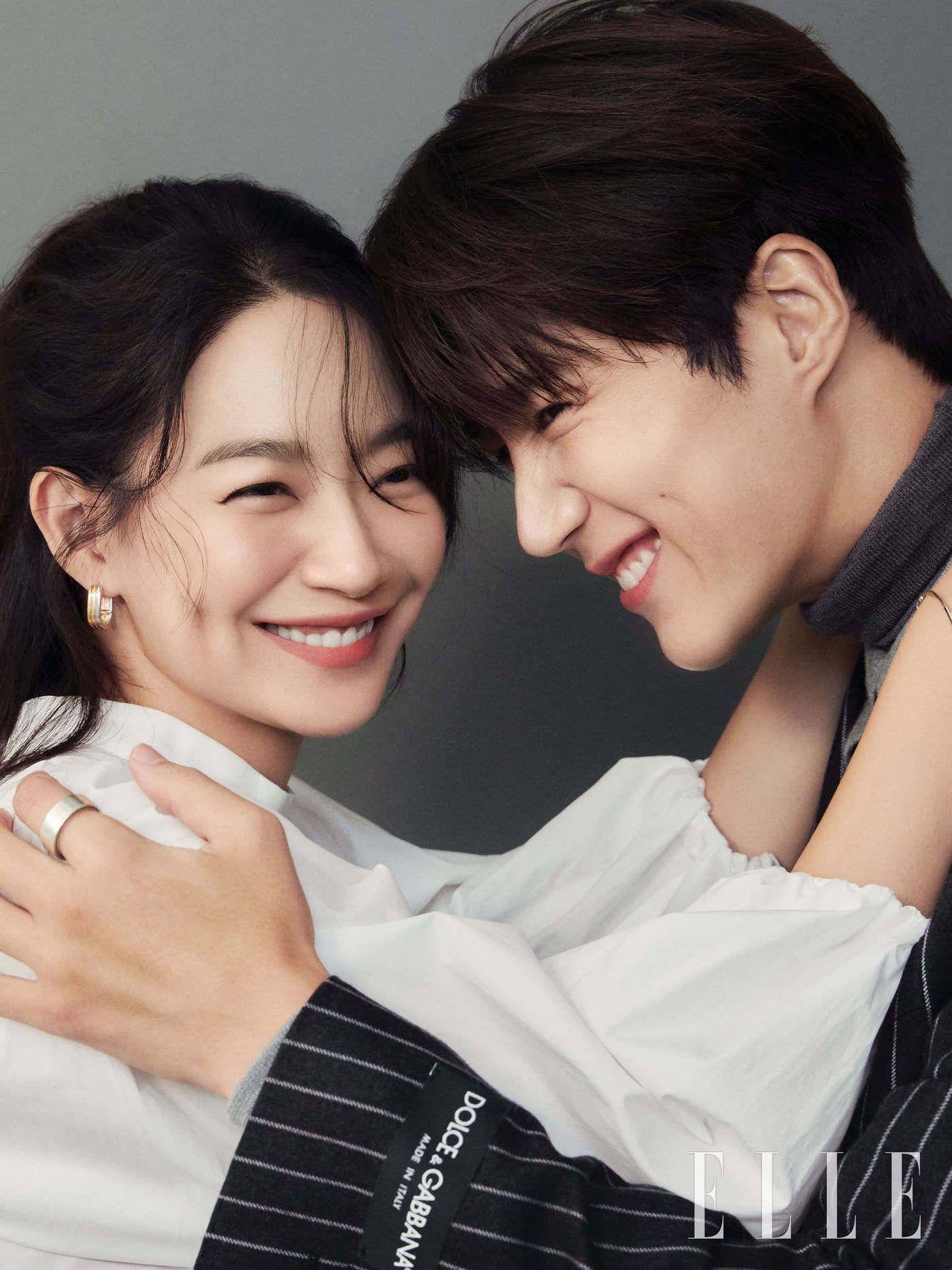 Shin Min Ah dan Kim Seon Ho