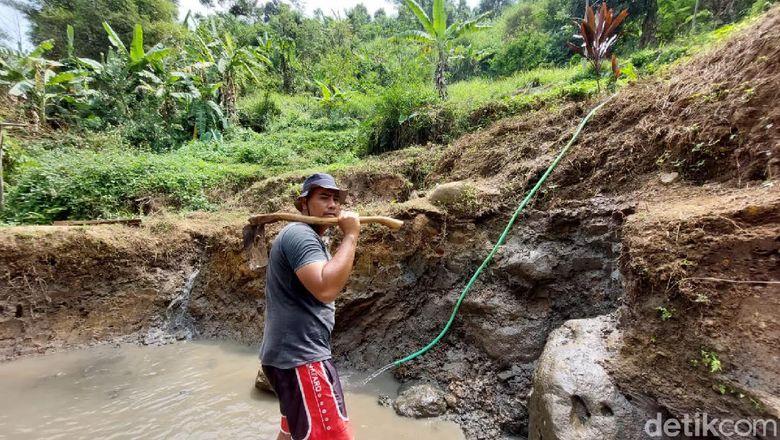 Sumber air panas Desa Cimanggu, KBB
