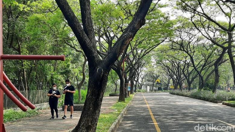 Taman Impian Jaya Ancol buka lagi setelah PPKM, Jumat (20/8/2021).