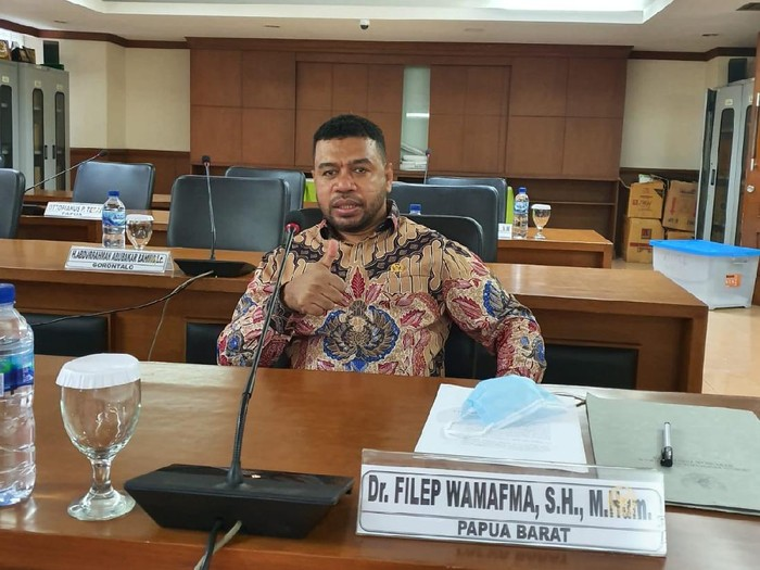 Wakil Ketua Komite 1 DPD RI Filep Wamafma