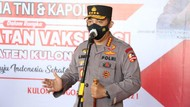 Kapolri Tinjau Vaksinasi-Bansos di Yogyakarta, Ingatkan Warga Disiplin Prokes