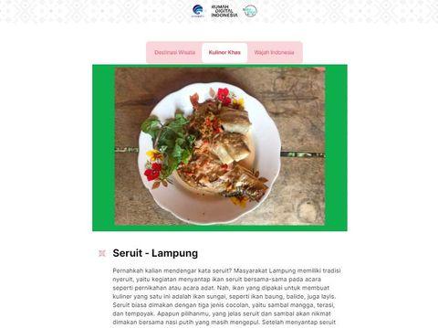 Kuliner Nusantara berbahan ikan (dok Istimewa)