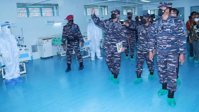 Momen KSAL Laksamana TNI Yudo Margono Meninjau RSPAL dr Ramelan