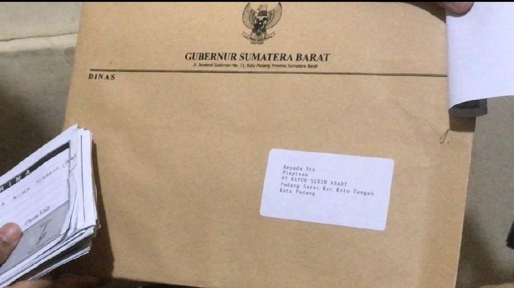 Kasus Gubernur Minta Sumbangan Dilanjut, Pemprov Sumbar Hormati Proses Hukum