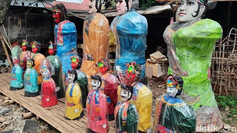 Setu Babakan Tutup, Ondel-Ondel dan Bir Pletok Ditinggal Pembeli