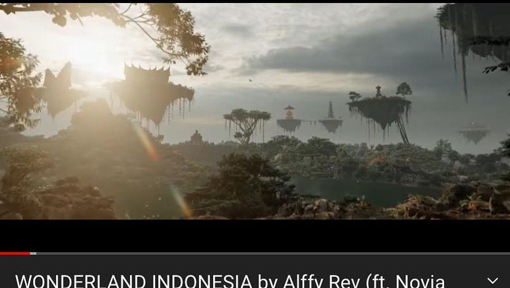 Wonderland Indonesia by Alffy Rev Trending Nomor 1 di YouTube