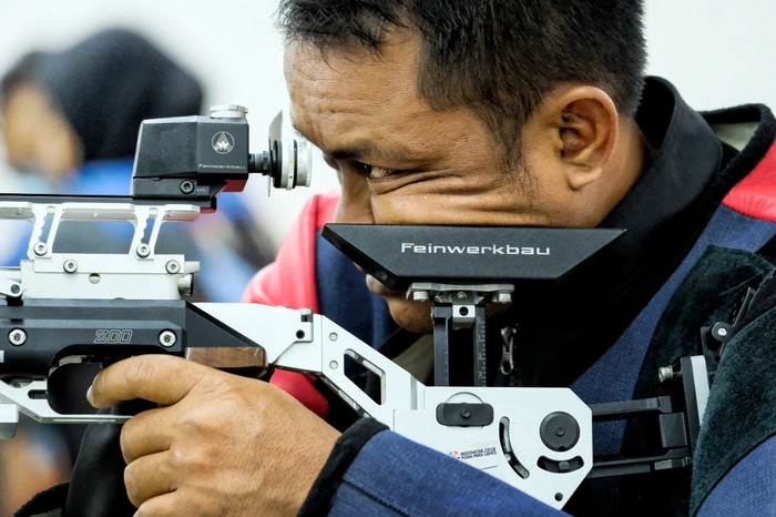 Bolo Triyanto, atlet menembak Indonesia di Paralimpiade Tokyo 2020