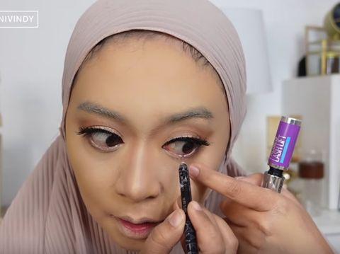 Ini Vindy makeup ala akad nikah Lesti Kejora
