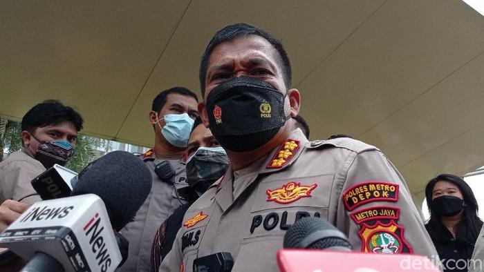 Kapolres Depok Kombes Imran Edwin Siregar (Wilda Hayatun Nufus/detikcom).