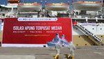 KM Bukit Raya jadi Tempat Isolasi Terapung di Medan