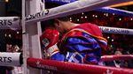 Momen Manny Pacquiao Dikalahkan Yordenis Ugas