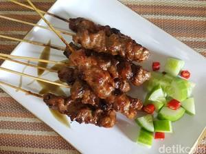 Resep Sate Babi Manis yang Empuk Juicy Untuk Lauk Makan Siang