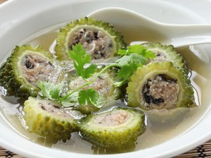 Resep Sup Pare Isi Ayam dan Jamur Kuah Bening yang Gurih Sedap