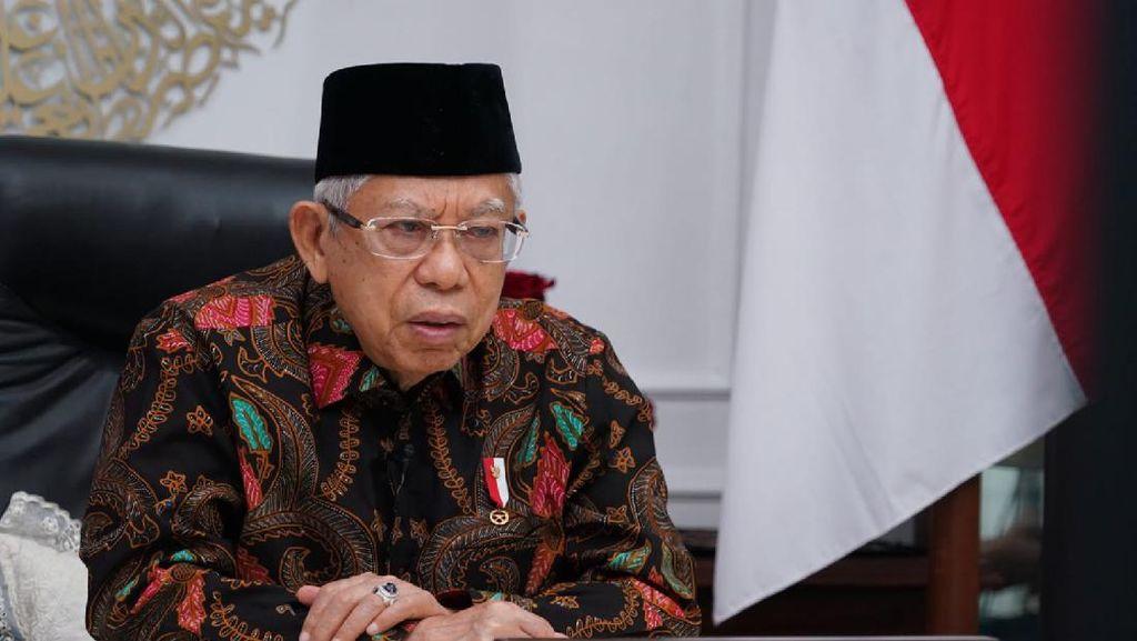 Buka Munas dan Konbes NU 2021, Maruf Amin: COVID-19 Jadi Masalah Keagamaan