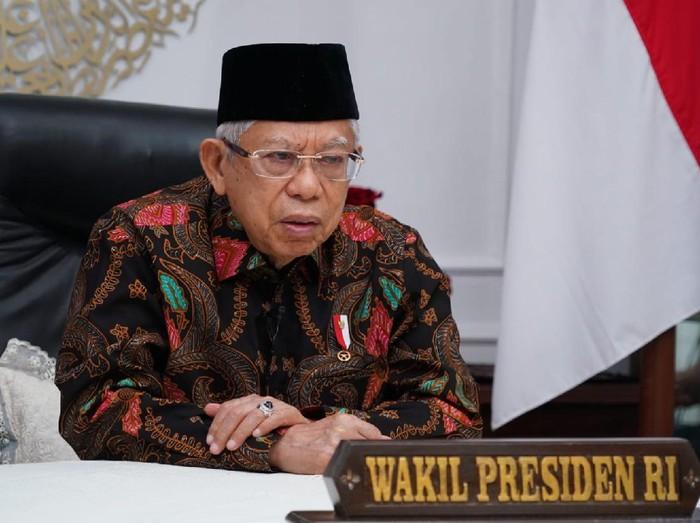 Wakil Presiden Maruf Amin di acara MUKISI