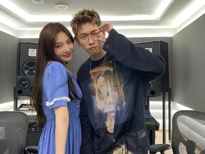 Crush dan Joy Red Velvet