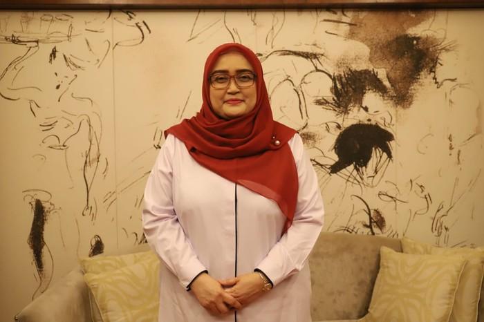 Direktur Jenderal Pembinaan Hubungan Industrial dan Jaminan Sosial Ketenagakerjaan (Dirjen PHI dan Jamsos) Kementerian Ketenagakerjaan Indah Anggoro Putri.