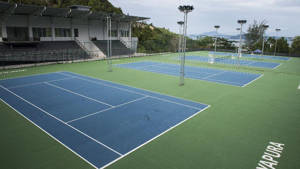 Intip Lapangan Tenis Standar Internasional yang Jadi Venue PON Papua