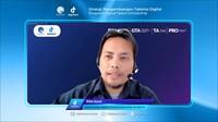 Pembukaan Program DTS bertemakan Sinergi Pengembangan Talenta Digital berlangsung secara virtual dan disiarkan secara LIVE melalui Zoom, YouTube Kominfo, serta YouTube Digitalent Media.
