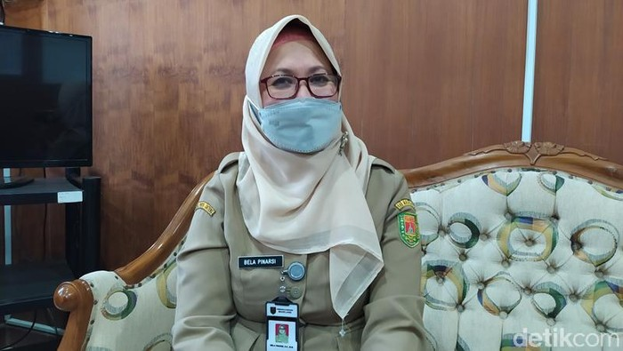 Plt Kepala Dinas Sosial, Pengendalian Penduduk dan Keluarga Berencana, Pemberdayaan Perempuan dan Perlindungan Anak, Kabupaten Magelang, Bela Pinarsi, Senin (23/8/2021).