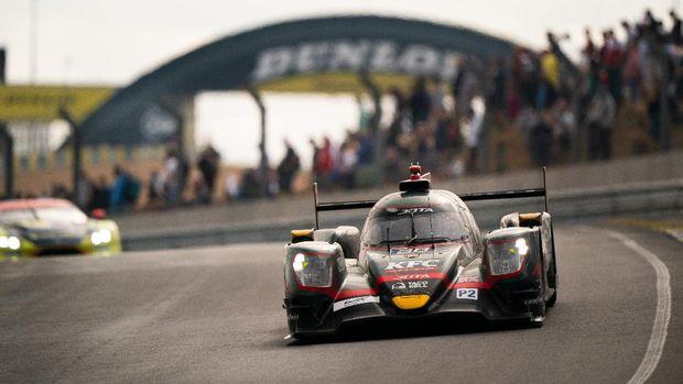 Sean Gelael dan JOTA #28 finis kedua di 24 Hours of Le Mans pada kelas LMP2, Minggu (22/8/2021)