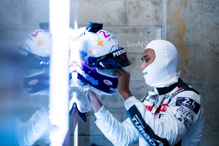 Sean Gelael di 24 Hours of Le Mans