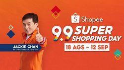 Jackie Chan & Joe Taslim Ramaikan Shopee 9.9 Super Shopping Day