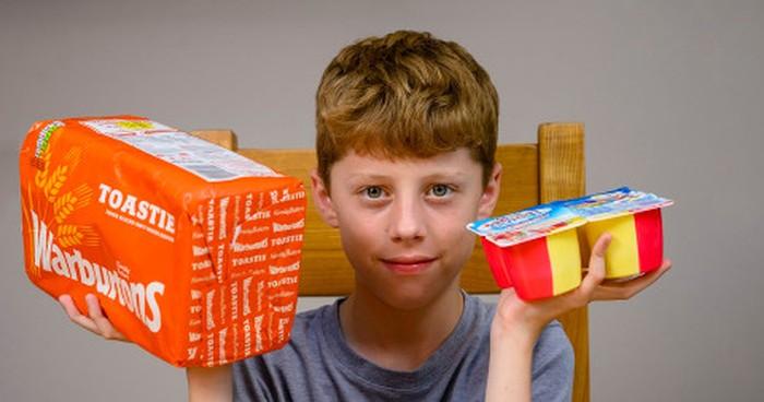 Fobia Makanan, Bocah Ini Hanya Makan Roti dan Yoghurt Selama 10 Tahun
