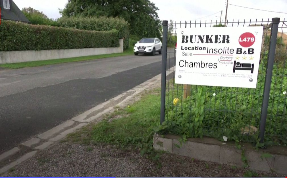 Hotel Bunker L479 di Prancis