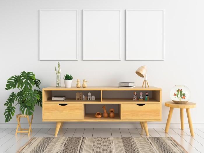 Inspirasi desain rumah minimalis 2021. Foto: Getty Images/iStockphoto/wuttichaijangrab
